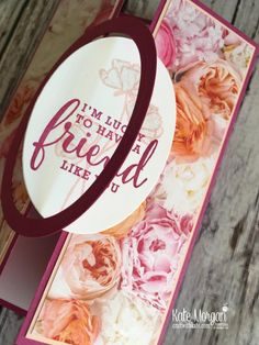 Petal Promenade DSP with Share What You Love by Kate Morgan, Stampin Up Australia opening