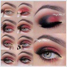 Pink and Black look