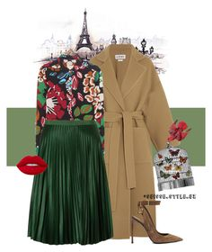 """✔️"" by komilash ❤ liked on Polyvore featuring beauty, Loewe, Burberry, Maison Scotch, Tom Ford, FabFunky and Lime Crime"