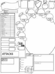 49 Best 5e character sheets images in 2018 | Academic writing