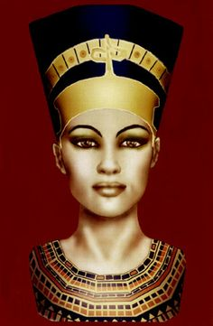 Nefertiti by ~mion on deviantART