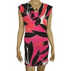 M&Co Pink Cowl Neck Mini Dress / Tunic. Sizes 8-18