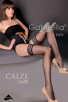 Ciorap negru Calze-Lux model 202 Gabriella la Pret Excelent - Lenjerie intima