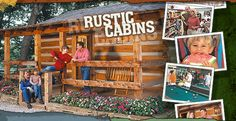 The Wilderness is a great place to go camping, and it has a free train to Silver Dollar City.