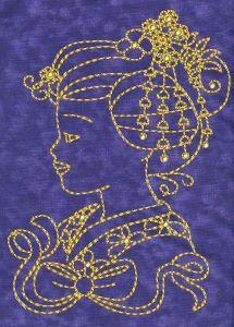 Geisha Embroidery