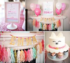 Kitty Cat Birthday Party on Kara's Party Ideas | http://KarasPartyIdeas.com (32)