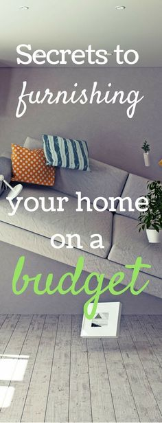 Furnishing a house on a budget / home decor on a budget / budget decorating  / home owners / buying a house (Top Design Budget)