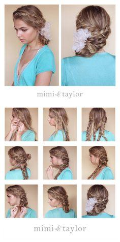 Modern side bun bridal hair style by Mimi & Taylor Bride and Chic   Modern Wedding Ideas By Leading UK Wedding Blog