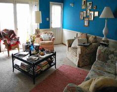 100 Wandfarben Ideen Für Eine Dramatische Wohnzimmer Gestaltung