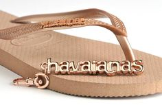 havaianas with charm. we love our havaianas!