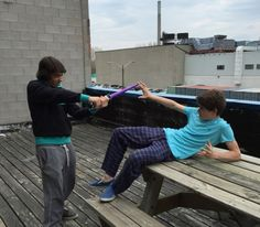 Jonny Gray and Jake Goodman being the adorable dorks they are