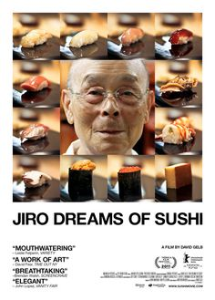 Looking forward to seeing this documentary about the world's best sushi chef... and then eating lots of sushi!