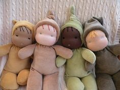 #waldorf dolls  Love the earth tones.....  https://wildmaplewool.squarespace.com