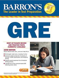 Read Sharon Weiner Green M.'s book GRE with Online Tests (Barron's Test Prep). Published on by Barrons Educational Series. Free Pdf Books, Free Ebooks, Best Gre Prep, Reading Online, Books Online, Prep Book, Math Strategies, Book Categories, Test Preparation