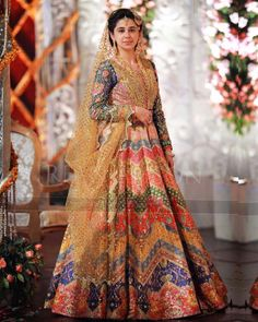 Nomi Ansari is the famous fashion designer. Check out our new arrivals, luxury pret, Occasion wear and wedding wear collection. Asian Wedding Dress, Pakistani Wedding Outfits, Pakistani Bridal Dresses, Bridal Lehenga, Indian Dresses, Bridal Mehndi Dresses, Mehendi Outfits, Bridal Gowns, Wedding Dresses