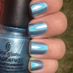 China Glaze Sci-Fly By Swatch and Review