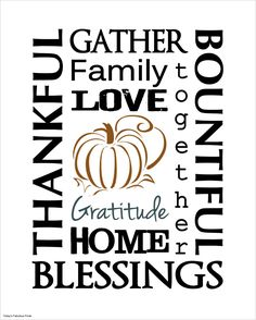 Today's Fabulous Finds: Thanksgiving Subway Art Prints: Second Edition Free Thanksgiving Printables, Thanksgiving Signs, Thanksgiving Blessings, Free Printables, Printable Art, Thanksgiving Graphics, Thanksgiving Appetizers, Thanksgiving Outfit, Thanksgiving Decorations