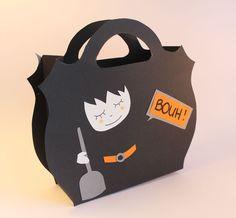 Sacs de bonbons halloween sur pinterest sacs pour halloween - Comment fabriquer un sac a bonbon pour halloween ...