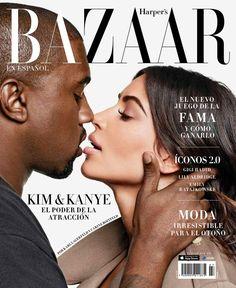 Kim Kardashian Magazine, Kim Kardashian Photoshoot, Couple Posing, Couple Shoot, Lily Aldridge, Best Fashion Magazines, Fashion Magazine Cover, Magazine Covers, Kanye West And Kim
