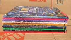10 I Spy Children's HC Book LOT Walter Wick Jean Marzollo Fantasy Mystery - http://books.goshoppins.com/childrens-books/10-i-spy-childrens-hc-book-lot-walter-wick-jean-marzollo-fantasy-mystery/