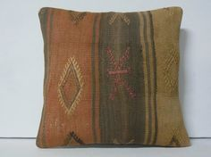 decorative pillow turkish kilim pillow by DECOLICKILIMPILLOWS