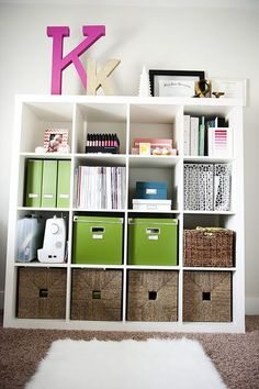 I am in love with Expedit shelves after seeing them in person. Those K's look great too :)