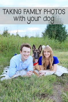 Taking Family Photos with Your Dog / Absolutely Bositively