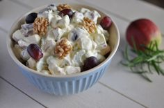 Waldorfsalat Tapas, Potato Salad, Oatmeal, Food And Drink, Breakfast, Ethnic Recipes, Christmas, Navidad, Weihnachten