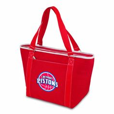 NBA Detroit Pistons Topanga Insulated Cooler Tote Red ** More info could be found at the image url.