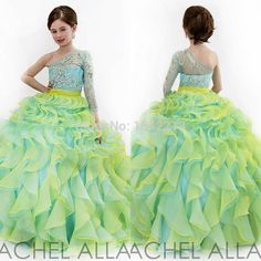 Cheap gown evening dress, Buy Quality gowns graduation directly from China gowns for big women Suppliers: 2015 Beauty High Neck Crystals Beaded Glitz Little Girls Pageant Dresses Turquoise Ball Gown Kids Flower Girl Dress US $