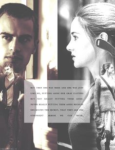 Divergent -- Four and Tris are so strong/good at being Dauntless because they both grew up in Abnegation learning to be selfless Be Brave Divergent, Divergent Four, Tris And Tobias, Divergent Hunger Games, Tris And Four, Divergent Trilogy, Divergent Insurgent Allegiant, Divergent Quotes, Insurgent Quotes