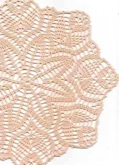 Crochet doily lace doily table decoration crocheted by DoilyWorld, £6.00