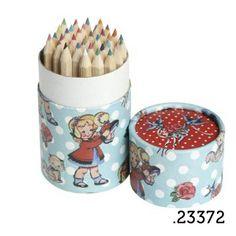 .23372 _ 36 lápis de cor dolly girl | 36 pencil tube dolly girl (altura|height 10cm) _ ♥ 5.00  www.atelierdatufi.com | info@atelierdatufi.com