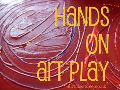 Hands on art play ideas - with a little added math and literacy