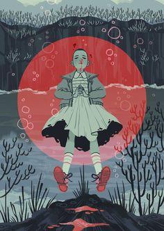 Stranger things': 11 too beautiful fan art illustrations that you Art And Illustration, Illustrations, Hopper Stranger Things, Stranger Things Netflix, Fan Art, Sara Kipin, Inspiration Artistique, Animation, Art Inspo