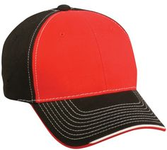 be1b81bf111e11 ProTech Mesh Performance Hook/Loop Adjustable Hat by OC Sports MWS-350