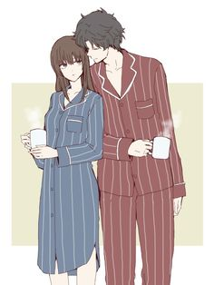 Gintama: Mutsu x Sakamoto Tatsuma Anime Couples Drawings, Anime Couples Manga, Cute Anime Couples, Manga Couple, Anime Love Couple, Couple Art, Sakamoto Tatsuma, Jumin X Mc, Jumin Han Mystic Messenger