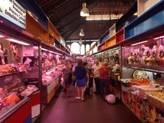Fresh market Malaga Spain