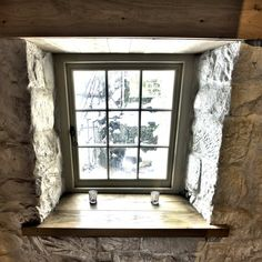 Renovation of mill featuring wooden traditional casement windows. Thrum Mill as seen on Restoration Man. Timber Windows, Casement Windows, Windows And Doors, Interior Windows, Coach House, Window Frames, Beautiful Family, Beautiful Buildings, Natural Wood