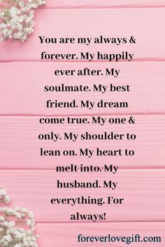 Valentines Day Sayings, Romantic Quotes For Husband, Love Quotes For Him Boyfriend, Valentines Day Quotes For Husband, Anniversary Quotes For Husband, Most Romantic Quotes, Quotes For My Husband, Inspirational Quotes For Husband, Love Notes For Husband
