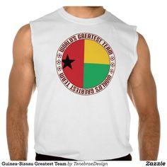 Guinea-Bissau Greatest Team Sleeveless T-shirts Tank Tops