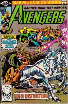 Avengers 208 June 1981 Issue  Marvel Comics  Grade by ViewObscura