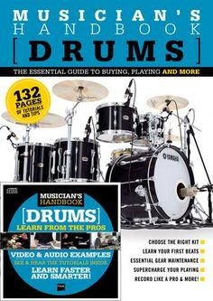 The How To Tune Drums Minibook takes you through a simple 4-step system for better drum tuning. It's written by drum guru and designer Gene Okamoto. Presented by Mapex Drums and DRUM! Magazine