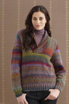 Wisteria Shawl Collar Pullover (Knit)