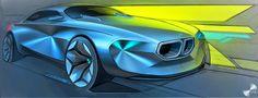 Sketch, Tape, Sleep. Automotive sketch blog by Jack Luttig: BMW Tense Precision part 1
