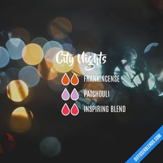 City Nights - Essential Oil Diffuser Blend