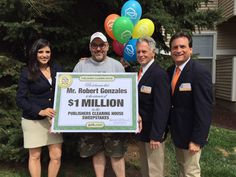 Congratulations to today's $1 Million winner, Robert Gonzales of Lakewood, CO!