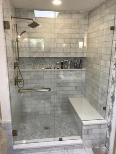 Lovely Bathroom Shower Remodel Ideas is part of Master bathroom decor A bath remodel is no small undertaking So before you start tearing up the tiles and picking out the tub, get a little advic - Bad Inspiration, Decoration Inspiration, Bathroom Inspiration, Decor Ideas, Diy Ideas, Bath Ideas, Modern Master Bathroom, Master Bathrooms, Brown Bathroom