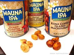 Mauna Loa Macadamia Nuts from Hawaii. Did the tour of the factory it was fun.
