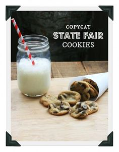 Copycat state fair cookies from Minnesota (Sweet Martha's Cookies)
